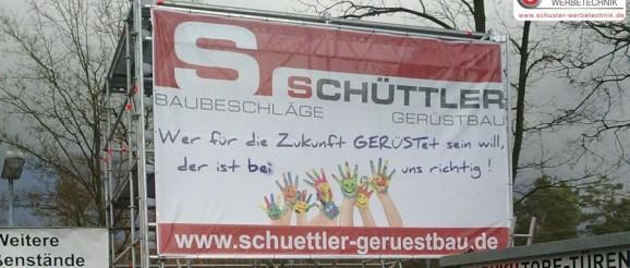 XXL-Digitaldruck Grossformatdruck - Banner - Werbebanner - Gerüstbanner - Mesh von SCHUSTER WERBETECHNIK, Nürnberg